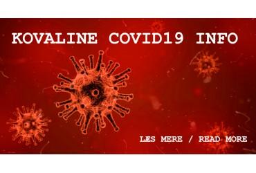 Covid-19 - Handling at KovaLine